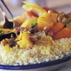 Más recetas vegetarianas (Cuscus)